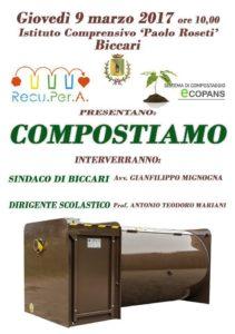 compostiera di comunità biccari