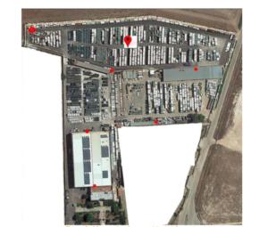 GEOREFERENZIAZIONEOUTDOORpercontainer, serbatoi, automezzi..