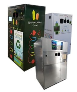 ECOCOMPATTATORE REVERSE VANDING waste MACHINE