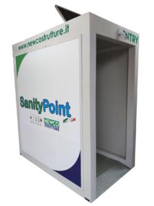 SanityPoint- Tunnel sanificante contro il Covid-19